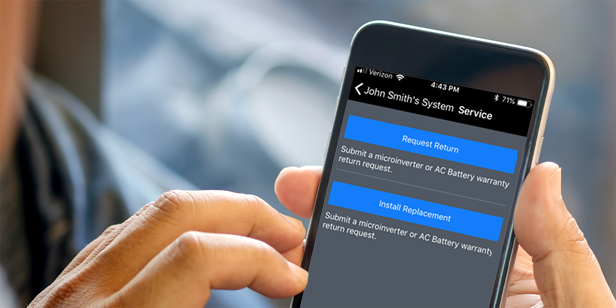 Service-on-the-Go: Warranty claim approvals and device replacements in seconds